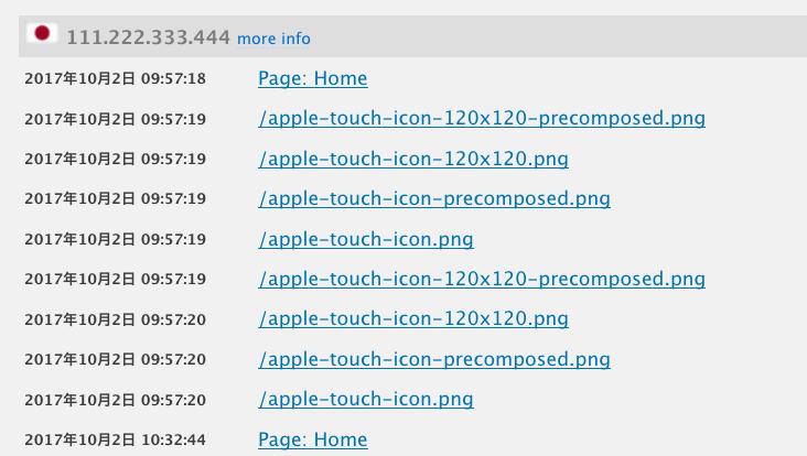 favicon と apple touch icon ブログのアイコンに関する設定 web memo